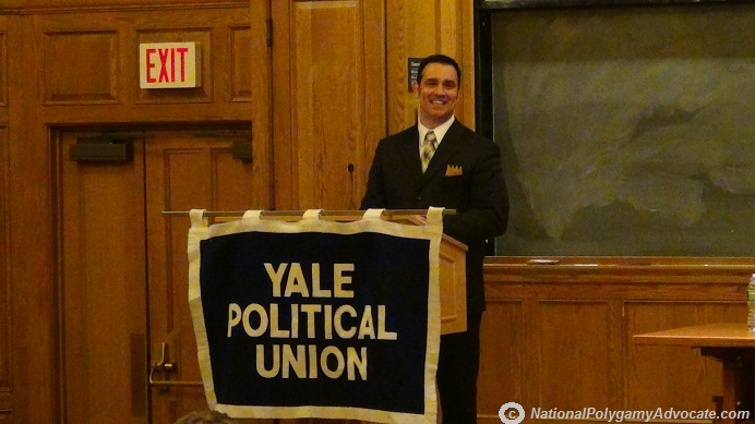 Mark Henkel giving Keynote Speech at Yale